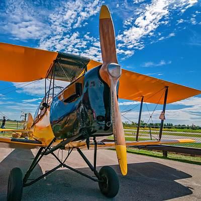 Triplane Photograph - Freedom Machine by Steve Harrington