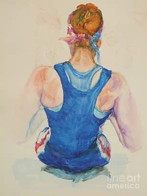 Wall Art - Painting - Freedom Of Rowing  Who S Got Your Backr by Patrice Murphy