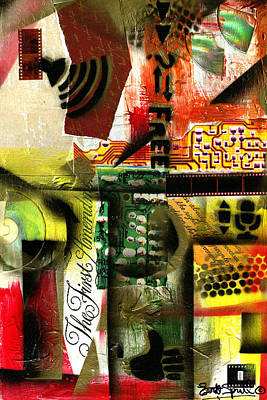 Wynton Marsalis Mixed Media - Freedom Of Speech 9 by Everett Spruill