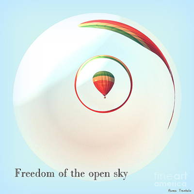 Photograph - Freedom Of The Open Sky by Renee Trenholm