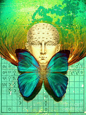 Digital Art - Freedom Of Thought by Desiree Paquette
