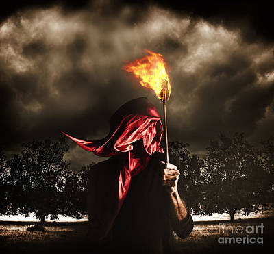 Corruption Photograph - Freedom Or Fire. A Statute Of Liberty by Jorgo Photography - Wall Art Gallery