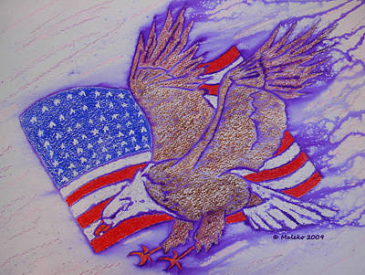 Freedom Reigns Art Print by Mark Schutter