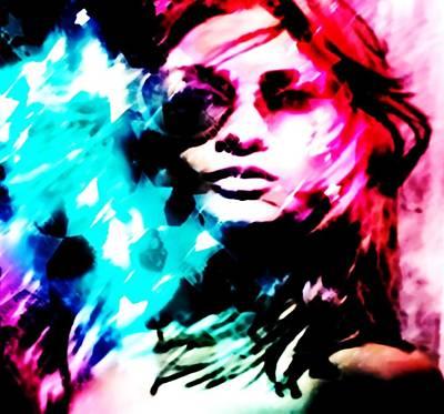 Digital Art - Freedom Rush by Catherine Lott