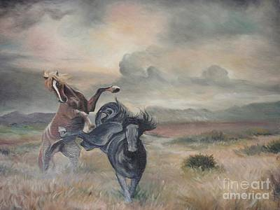 Art Print featuring the painting Freedom by Sorin Apostolescu