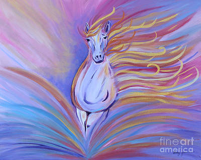 Painting - Freedom by Stacey Zimmerman