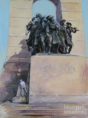 National War Memorial Ottawa Freedom The 24th Art Print by Christine Montague