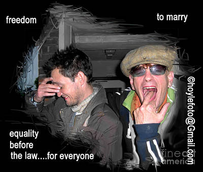 Freedom To Marry For Everyone Original by Mike Hoyle