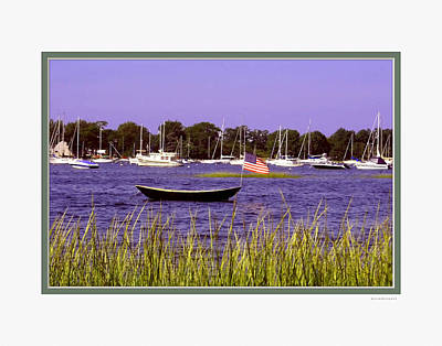 Photograph - Freedom Bristol Harbor Ri by Tom Prendergast
