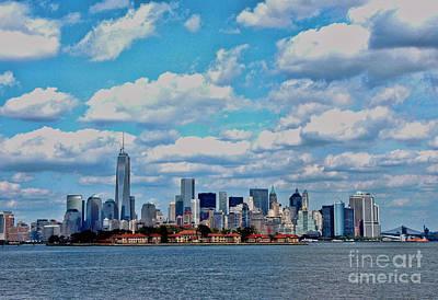 Photograph - Lower Manhattan by Allen Beatty