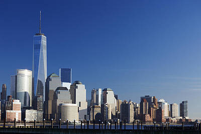 Photograph - Freedom Tower And Lower Manhattan by Alex Llobet