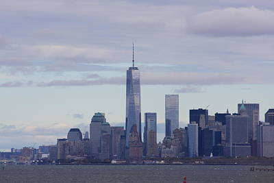Photograph - Freedom Tower by Andrew Romer