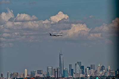 Photograph - Freedom Tower Fly By by Douglas Adams