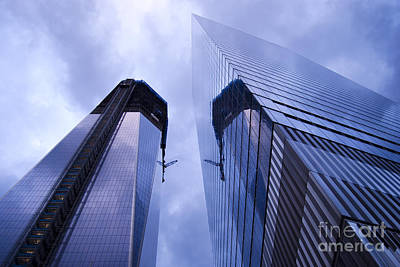 Architecture Photograph - Freedom Tower Ground Zero New York City by Sabine Jacobs