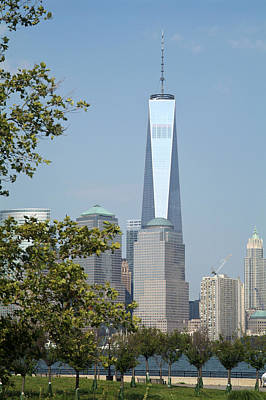 Photograph - One World Trade Center by Michael Dorn