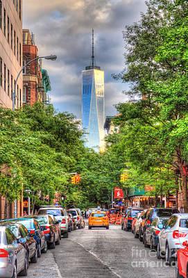 Photograph - Freedom Tower by Rick Kuperberg Sr