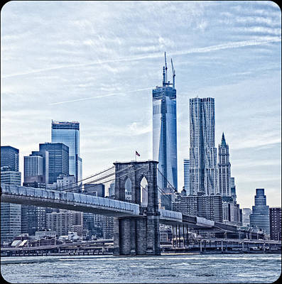 Photograph - Freedom Tower Rising by Frank Winters