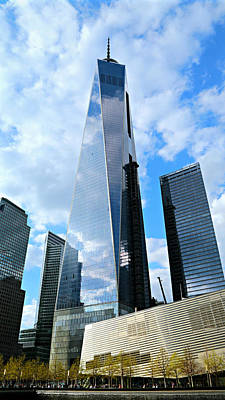 911 Memorial Photograph - Freedom Tower by Stephen Stookey
