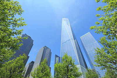Financial District Photograph - Freedom Tower Which Is Surrounded  By by Toshi Sasaki