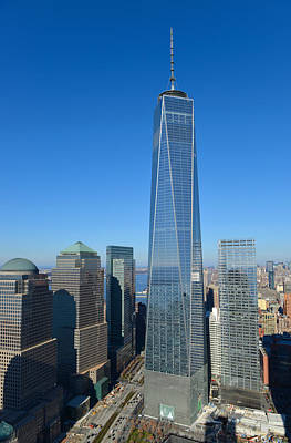 Photograph - Freedom Tower by Yue Wang