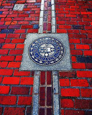 Freedom Trail Art Print by Benjamin Yeager