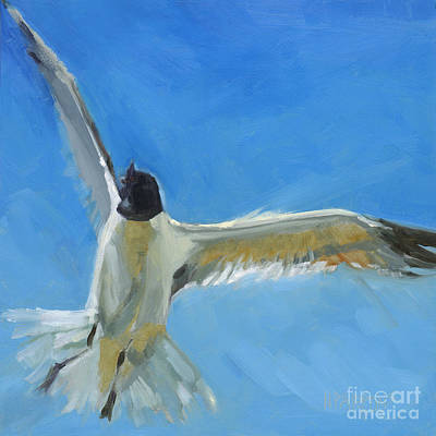 Painting - Freedom's Song-na by Nancy  Parsons
