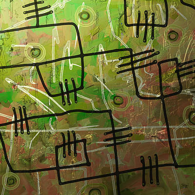 Digital Art - Freeflow 07 by Shesh Tantry