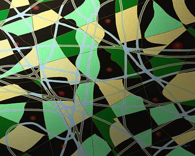 Digital Art - Freeflow 15 by Shesh Tantry