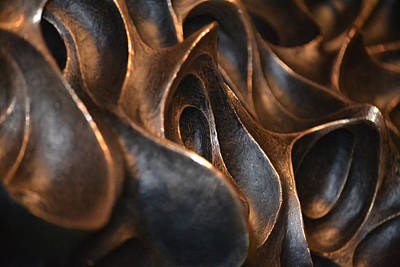 Photograph - Freeform Metal  by Nadalyn Larsen