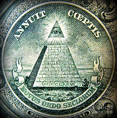 Freemason Symbol And Quote Art Print