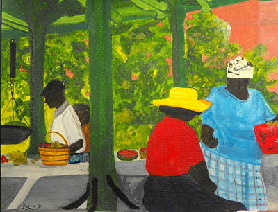 Freeport Market Art Print