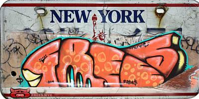 Freeskate 2014 Art Print by Free five Nyc