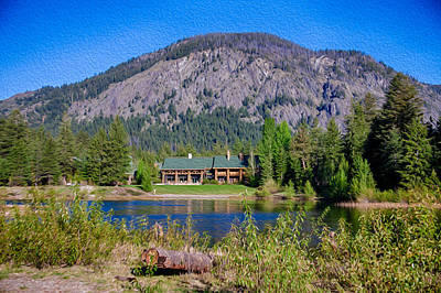 Photograph - Freestone Inn Lakeside View by Omaste Witkowski