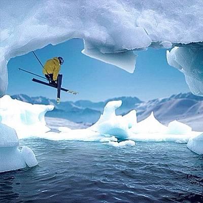 Freestyle Photograph - #freestyle #ski #winterwonderland #love by Henning Lange