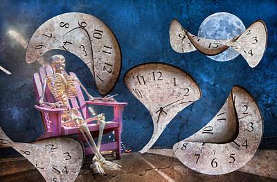 Human Bones Digital Art - Freeway by Betsy Knapp