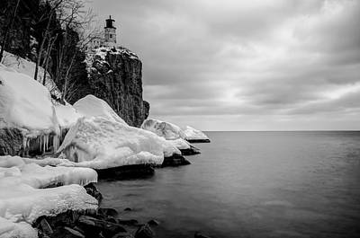 Art Print featuring the photograph Freezing Beauty by RC Pics