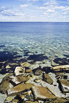 Photograph - Freezing Clear Waters by Arkady Kunysz