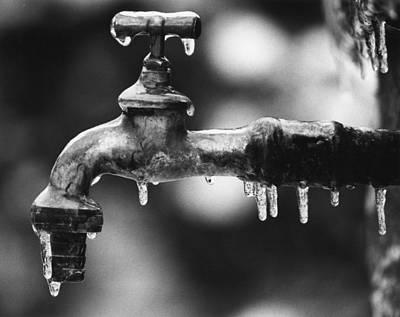 Photograph - Freezing by Dragan Kudjerski