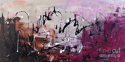 Painting - Freezing Love by Preethi Mathialagan