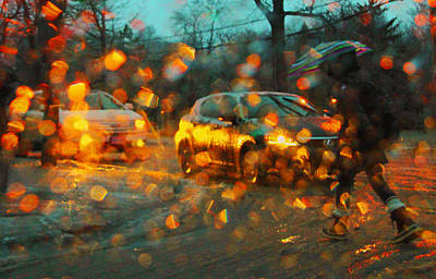 Photograph - Freezing Rain 2 by Jim Vance
