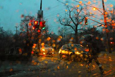 Photograph - Freezing Rain 3 by Jim Vance