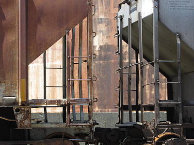 Photograph - Freight Train Wheels 15 by Anita Burgermeister