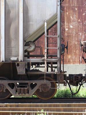 Photograph - Freight Train Wheels 16 by Anita Burgermeister