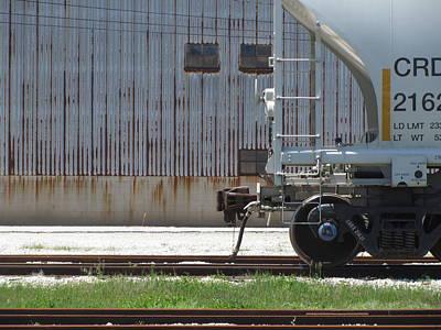 Photograph - Freight Train Wheels 18 by Anita Burgermeister