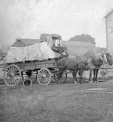 Photograph - Freight Wagon  by William Haggart