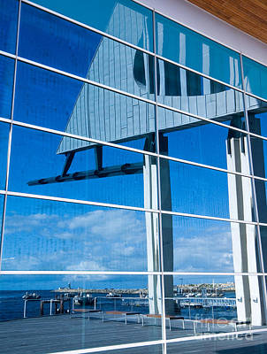 Photograph - Fremantle Maritime Museum Reflections 01 by Rick Piper Photography