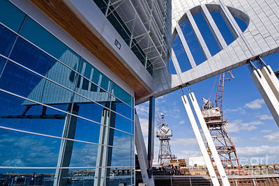 Photograph - Fremantle Maritime Museum Reflections 03 by Rick Piper Photography