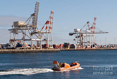 Photograph - Fremantle Port by Rick Piper Photography