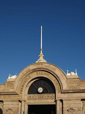 Fun Patterns - Fremantle Railway Station by Michaela Perryman