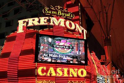 Fremont Casino Art Print